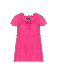 Zay Two-in-one cotton top Pink