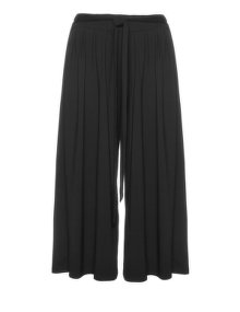 Isolde Roth Wide jersey trousers Black