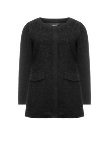 Elena Miro Shimmery wool jacket Black