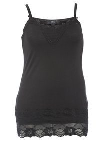 ZAY Laced top Black