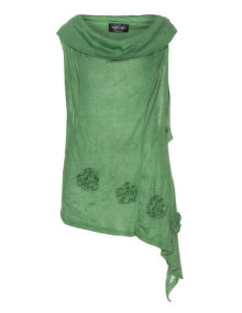 Vincenzo Allocca Finely knit top  Green