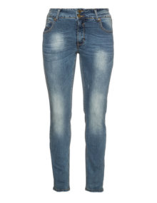 Veto Washed out slim fit jeans Blue